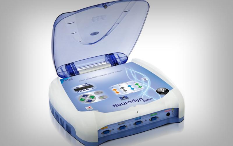 equipamento de eletroterapia